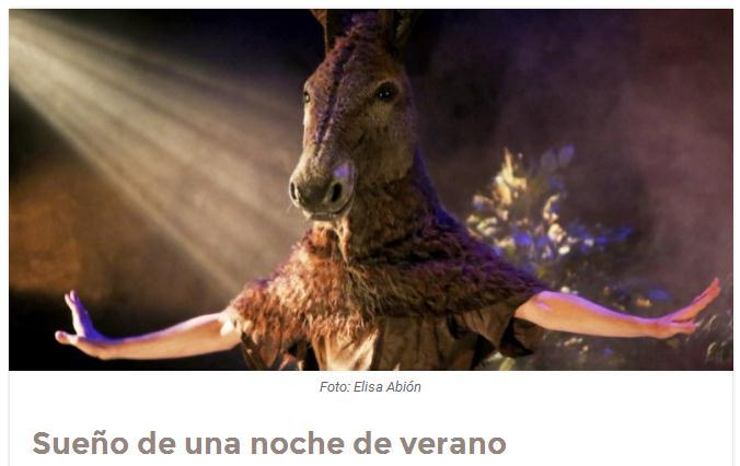 marketing contenidos teatro sueño noche verano tus expertos artículos entrevistas reportajes
